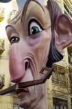 Fallas skulpturer Arkivfoton