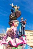 Fallas of Valencia in Denia popular fest figures Stock Images