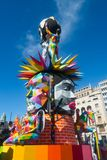 Fallas Valencia 2018 Royalty Free Stock Photography