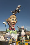 Fallas of Valencia. Royalty Free Stock Images