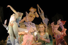 Fallas Stock Photo