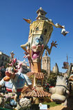 Fallas in Valencia, Spain Stock Image