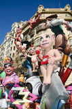 Fallas in Valencia, Spain Royalty Free Stock Photos