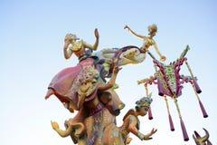 Fallas from Valencia, Spain celebration Stock Photos