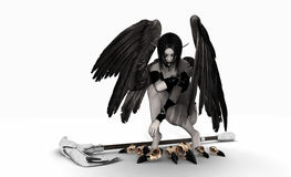 Fallen angel Stock Photography