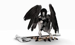 Fallen angel Stock Photography