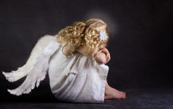 A fallen angel Stock Images