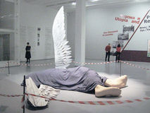 The Fallen Angel. Royalty Free Stock Photography