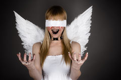 fallen angel Royalty Free Stock Photography
