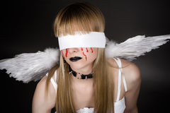 fallen angel Stock Images