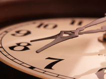 Fallen clock Stock Photography