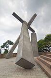 Fallen Cross Monument, Brazil Royalty Free Stock Photo