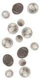 Fallen des Schweizer Franc Stockbild