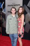 """Emile Hirsch. & Date arriving at the """"Transformers: Revenge of the Fallen"""" Premiere at the Mann's Village Theater in Westwood, CA  on June 22, 2009 Royalty Free Stock Photo"""
