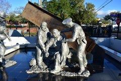 9/11 Fallen Heroes Memorial. This photo was taken in Tampa Bay, Florida Royalty Free Stock Photo