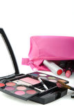 Fallen make up case Stock Photography