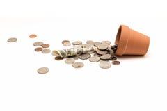 The Fallen Money Royalty Free Stock Photo