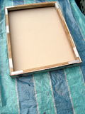 Fallen picture frame  Royalty Free Stock Photo