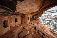Fallen Roof Ruin. On Cedar Mesa, Utah, USA royalty free stock photography