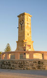 Fallen Sailors and Soldiers Memorial. FREMANTLE,WA,AUSTRALIA-JUNE 25,2016: Fremantle Fallen Sailors and Soldiers War Memorial  at Monument Hill under a blue sky Royalty Free Stock Photo