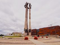 Fallen Shipyard Workers Monument in Gdansk, Poland Stock Images