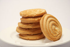 Fallen Shortbread Royalty Free Stock Images