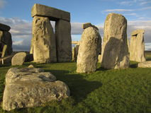 Fallen Stone at Stonehenge. One of the fallen stones at Stonehenge Stock Image