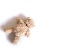 Fallen teddy bear Stock Photo