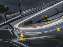 Classic truck running board stock images