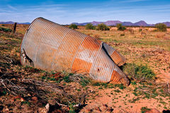 Fallen Water Tank Royalty Free Stock Photos