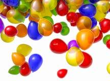 Fallende Ballone Stockfotos