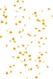 Fallende Herbstblätter stock abbildung