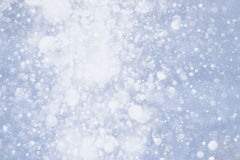 Fallende Schneeflocken Lizenzfreies Stockbild