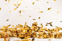 Fallender Confetti lizenzfreie stockfotografie