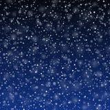 Fallender Schnee Lizenzfreie Stockfotos