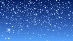 Fallender Schnee stock video