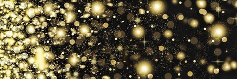 Fallender Schnee nachts Neues Jahr-Weihnachten Auf weißen flaumigen Schneeflocken eines schwarzen Hintergrundes Stockfotos