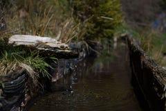 Fallendes Wasser Stockbild