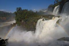 faller iguazuen Fotografering för Bildbyråer