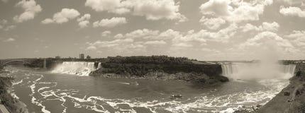 faller panorama- niagara Arkivfoto
