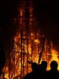 Falles in de stad van Valencia royalty-vrije stock foto