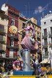 Falles in Valencia Stockfoto