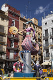 Falles in Valencia Stock Photo