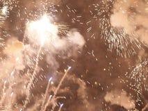 Falles w mieście Walencja zdjęcie stock