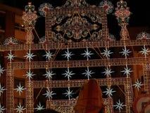 Fallesen i staden av Valencia royaltyfria bilder