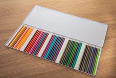 Fallet av att färga ritar Arkivfoto