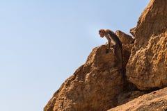 Fallhammer im Berg Stockfotografie