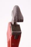 Fallhammer-Schlüssel-Detail - Verticle Ansicht Stockfotografie