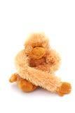 Fallhammer-Teddybärspielzeug lizenzfreie stockfotos