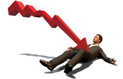 Fallimento illustrazione di stock